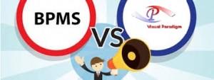 تفاوت BPMS با ویژوال پارادایم, تفاوت BPMS با Visual Paradigm