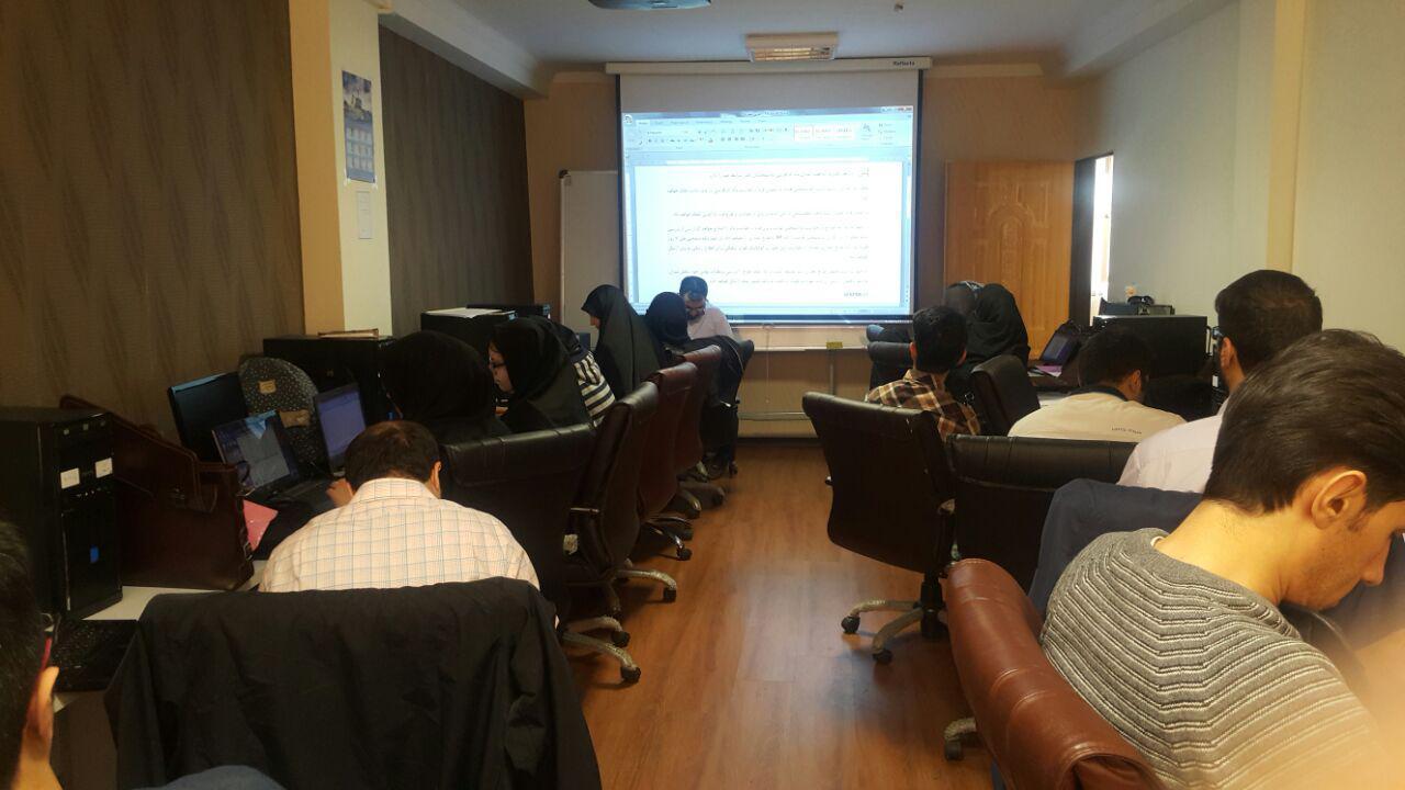 امتیاز عالی شرکت کنندگان به دوره آموزشی مدیریت فرایند 20 و 21 آبان