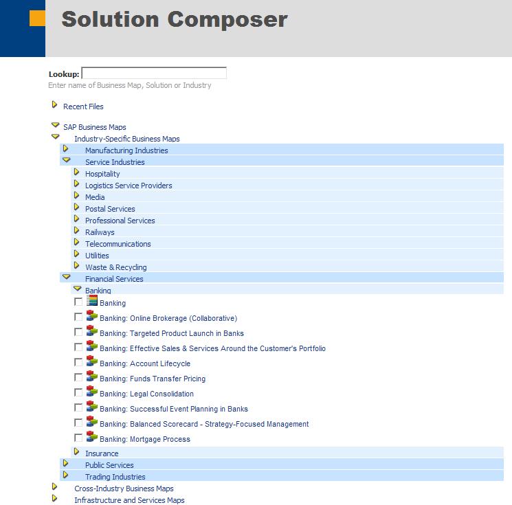 مدل مرجع فرایندی SAP