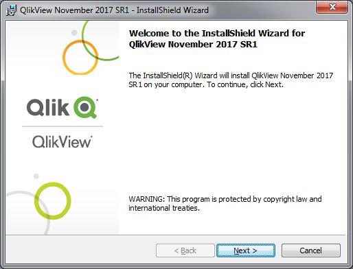 آموزش نصب QlikView