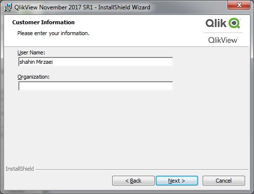 قفل شکسته QlikView