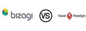 مقایسه دو نرم افزار Bizagi و visual paradigm