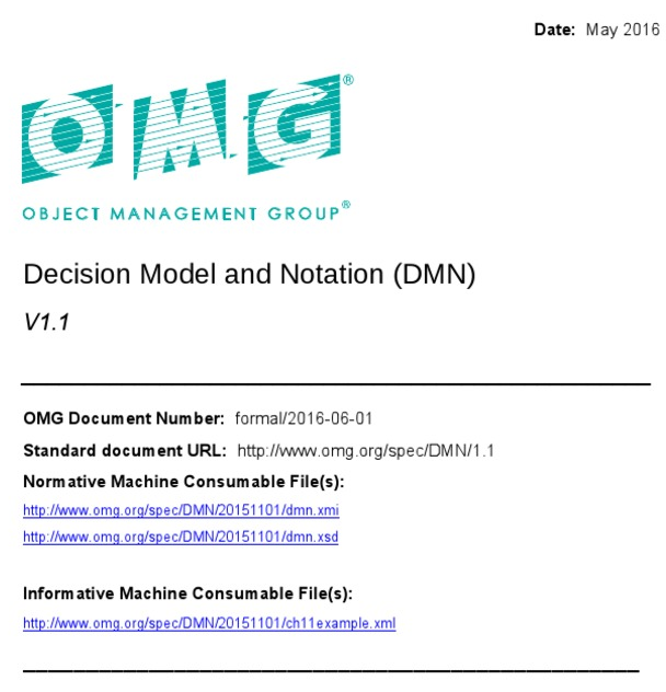 استاندارد DMN چیست