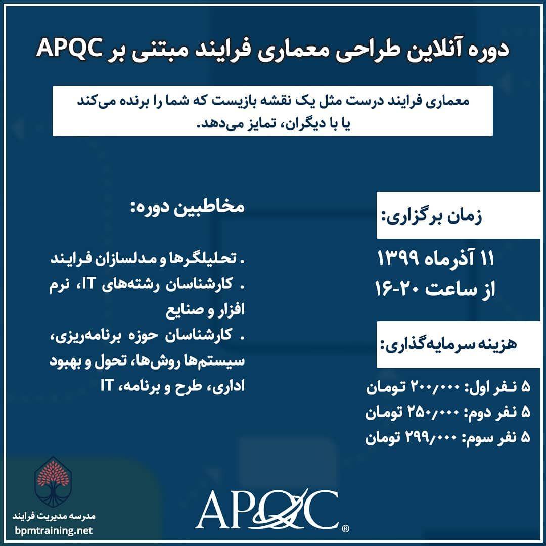 آموزش APQC
